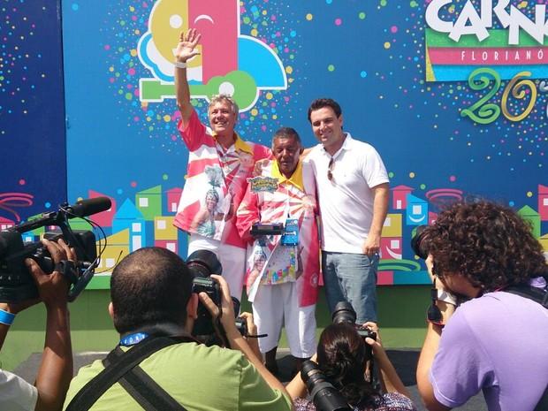 Bloco Unidos do Morro do Céu ganhou em 1º lugar  (Foto: Gabriela Machado/RBS TV)