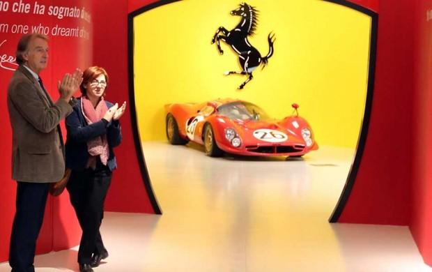 A clássica Ferrari 330 P4 é um dos destaques da exposição aberta em Maranello Luca di Montezemolo  (Foto: Divulgação)