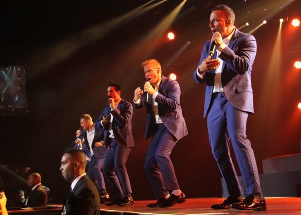 Backstreet Boys (Foto: Graça Paes/Photo Rio News)
