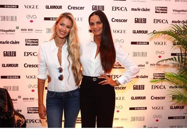 Yasmin Brunet e Luiza Brunet no evento Elas por Elas (Foto: Divulgação)