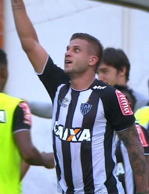 Rafael Moura; Atlético-MG (Foto: Reprodução/Premiere)