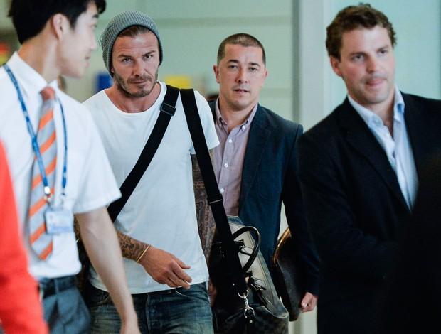 David Beckham entrevista china (Foto: Agência Reuters)