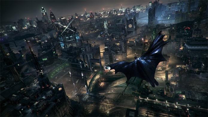 Gotham é o seu playgroun em Arkham Knight (Foto: Divulgação)