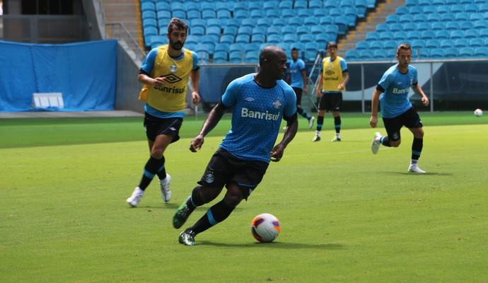 Yuri Mamute é novidade na lista de relacionados para o Gre-Nal (Foto: Tatiana Lopes/GloboEsporte.com)