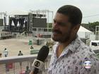 Criolo abre show em homenagem a Mariana em Belo Horizonte