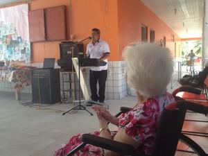 Programação alusiva ao idoso acontece até sexta-feira (2) (Foto: Fabiana Figueiredo/G1)