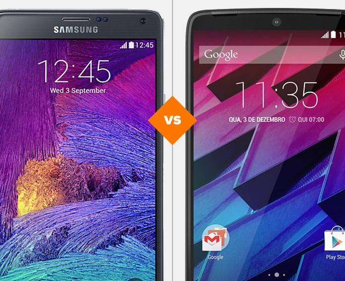 Galaxy Note 4 vs Moto Maxx: veja qual celular se sai melhor no comparativo  (Foto: Arte/TechTudo)