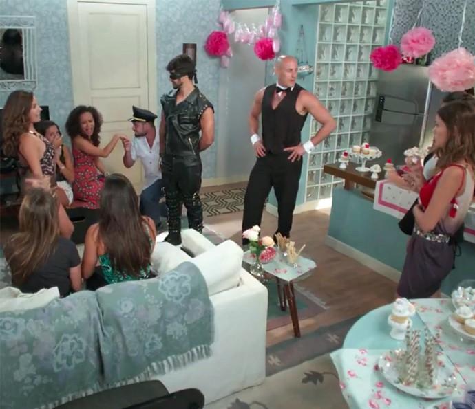 Nanda surpreende todo mundo (Foto: TV Globo)