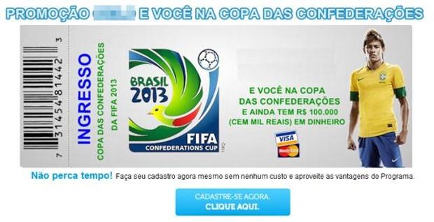 Diversos eventos esportivos viram tema de fraudes semelhantes. (Foto: Divulgação/Kaspersky)