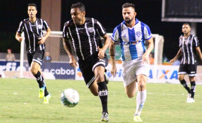 Paysandu x Bragantino - Edson Sitta e Leandro Cearense (Foto: Fernando Torres/Ascom Paysandu)