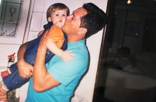João Guilherme, filho do cantor Leonardo (Foto: Iwi Onodera / EGO)
