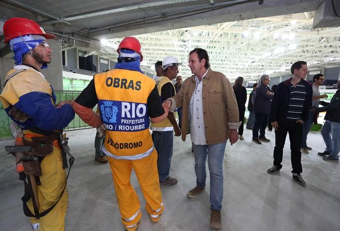 Velódromo Eduardo Paes (Foto: Beth Santos / Prefeitura do Rio)