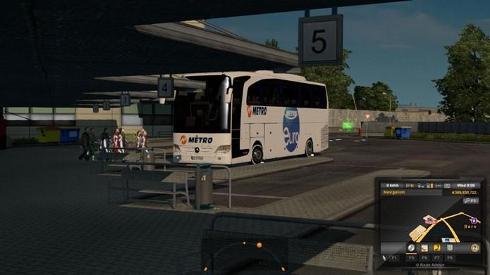 Conheça os melhores mods de ônibus para Euro Truck Simulator 2 (Foto: Reprodução/ETS2world)