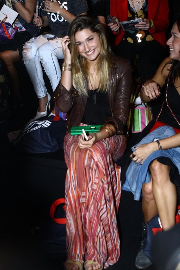 Sasha no Fashion Rio (Foto: Raphael Mesquita / Foto Rio News)