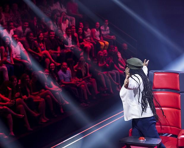 Brown bastidores Audição 2 (Foto: Isabella Pinheiro/TV Globo)