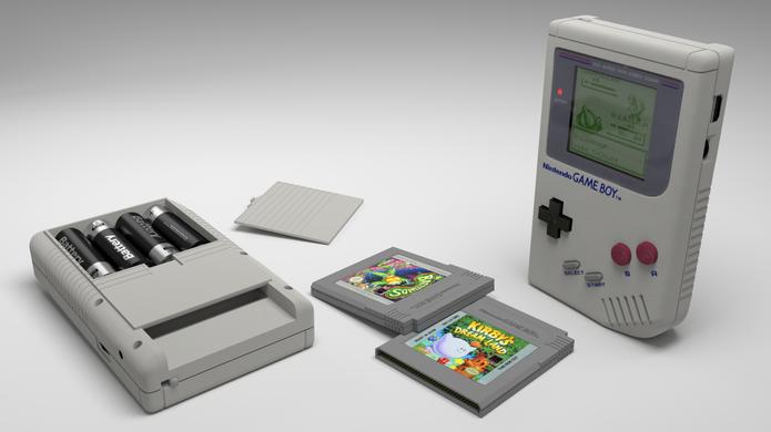 Primeira versão do Game Boy tinha tela em fundo verde e jogos em preto e branco (Foto: Reprodução)