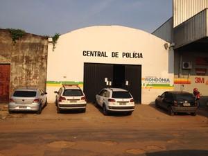 Central de Flagrantes da Polícia Civil em Porto Velho (Foto: Gaia Quiquiô/G1)