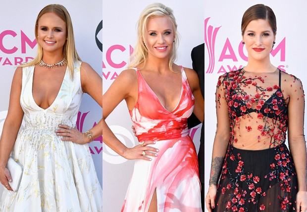 Miranda Lambert, Caroline Boyer e Cassadee Pope  (Foto: Getty Images)
