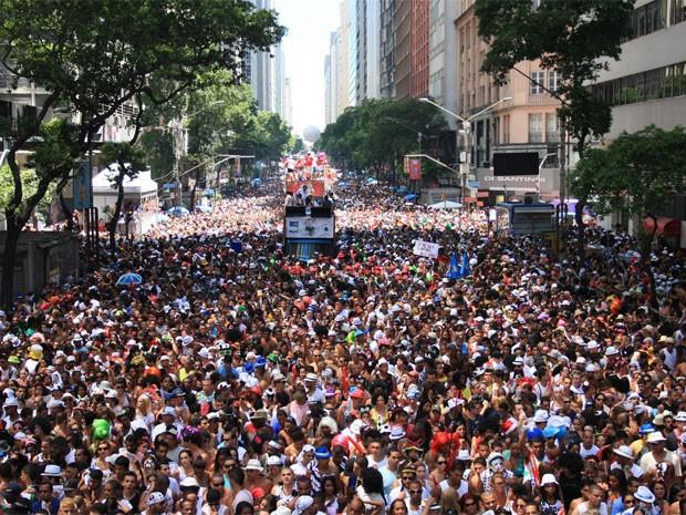 Bola Preta, que arrasta milhões de foliões, vai homenagear o Rio (Foto: Divulgação/ Bola Preta)