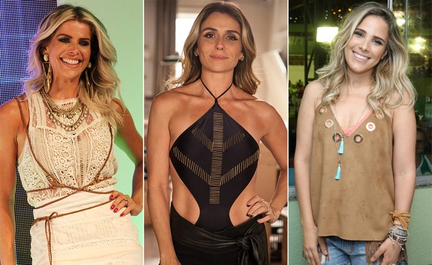 Karina Bacchi, Giovanna Antonelli e Wanessa Camargo (Foto: Celso tavares / Ego - Tvglobo - Roberto Filho / Brazil news)