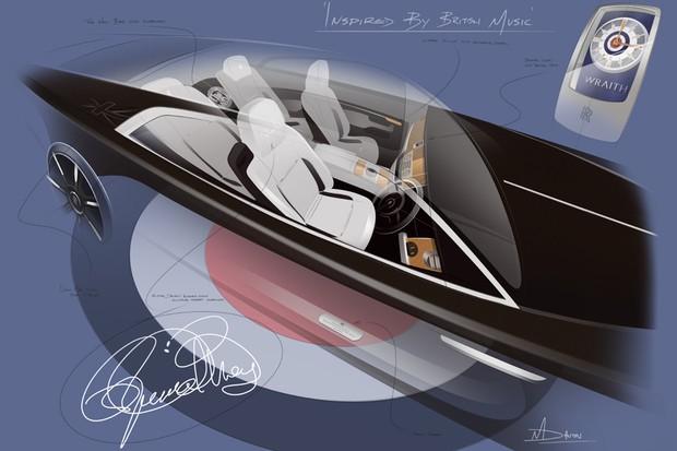 Rolls-Royce vai produzir Wraith inspirado em Roger Daltrey, do The Who (Foto: Divulgação)