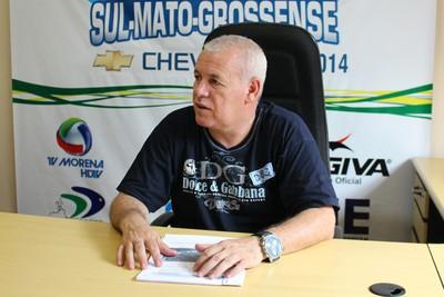 Marco Antônio Tavares, vice-presidente da FFMS (Foto: Hélder Rafael)