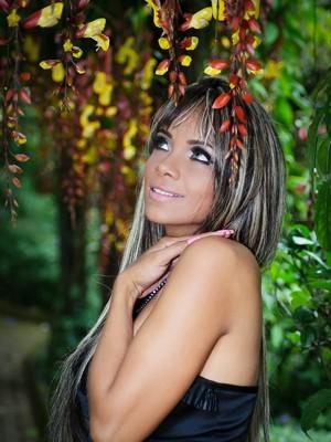 Ana Paula gostaria de fazer faculdade de biologia (Foto: Márcia Mendes)