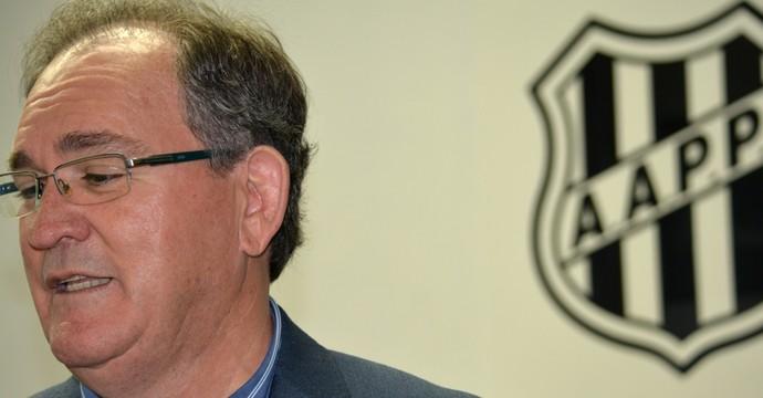Vanderlei Pereira, presidente da Ponte Preta (Foto: Heitor Esmeriz)