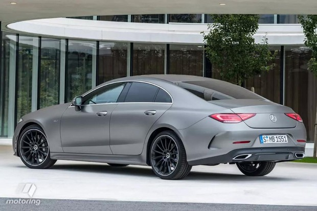 Mercedes-Benz CLS vaza às vésperas da apresentação (Foto:   Reprodução / Motoring)