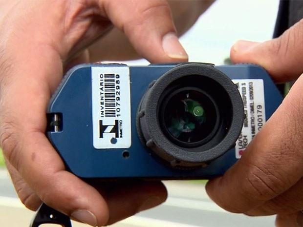 Aparelho fabricado nos EUA é o primeiro a ser usado no Brasil (Foto: Claudemir Camilo / EPTV)