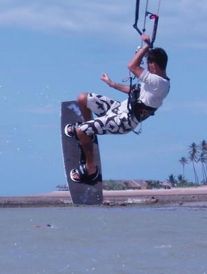 Piauí recebe primeira etapa do Campeonato Brasileiro de Kitesurf  (Foto: Divulgação/Aldeia )