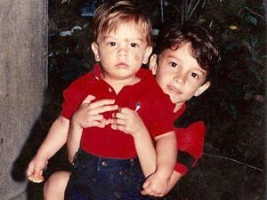 Rafael Furtado e irmão (Foto: Arquivo Pessoal)