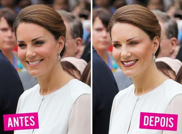 """Suficiente Kate Middleton e uma maquiagem """"de verdade"""". Confira! - Glamour  JB93"""