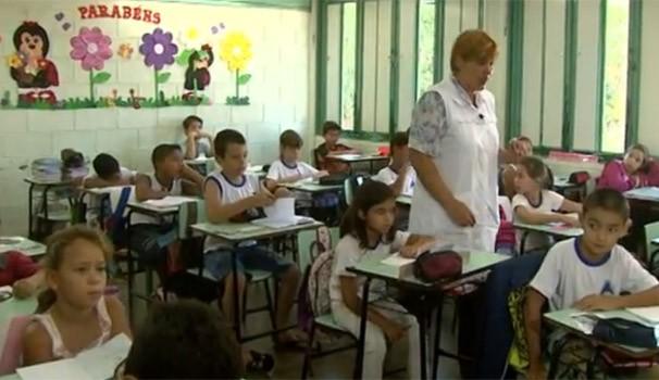Professoras do Brasil e Argentina fazem intercâmbio (Foto: Reprodução/RPC TV)