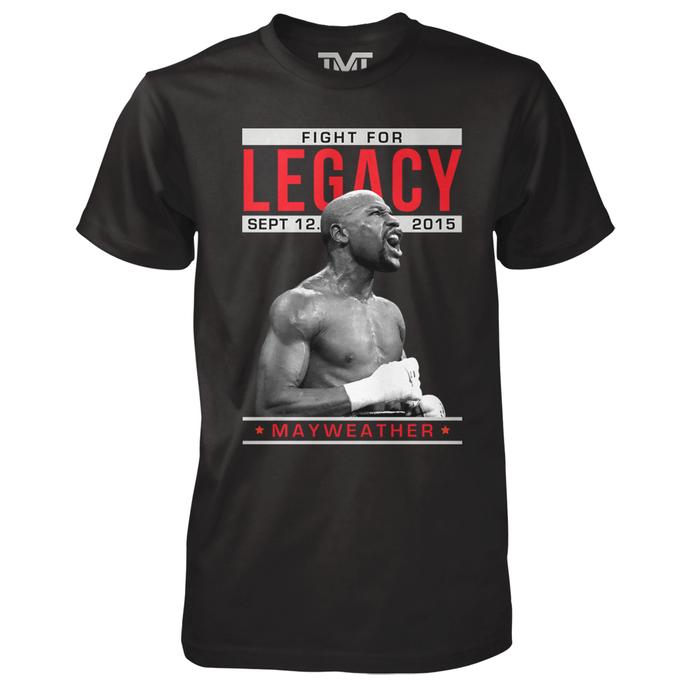 Floyd Mayweather boxecamisa última luta da carreira (Foto: Reprodução)