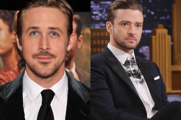 Ryan Gosling também já morou junto de Justin Timberlake, na época em que os dois eram adolescentes e estrelavam o Clube do Mickey (Foto: Getty Images)