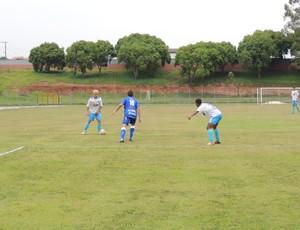 Poucas chances de gol foram criadas no empate deste sábado (Foto: Vitor Geron / Globoesporte.com)