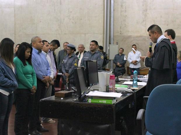 Julgamento de réus do 'caso Denise' demorou dois dias (Foto: Ive Rylo/G1 AM)