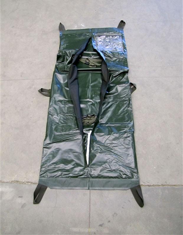 Governo holandês está vendendo em leilão on-line 2.500 sacos para corpos (Foto: BVA-Auctions.com/AP)