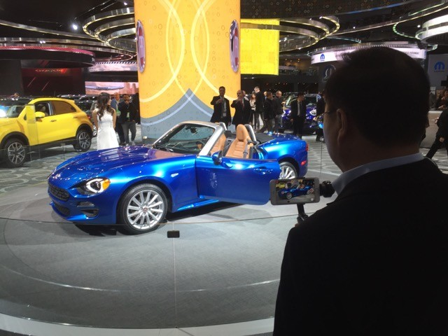 Fiat 124 Spider (Foto: Chico Barbosa)