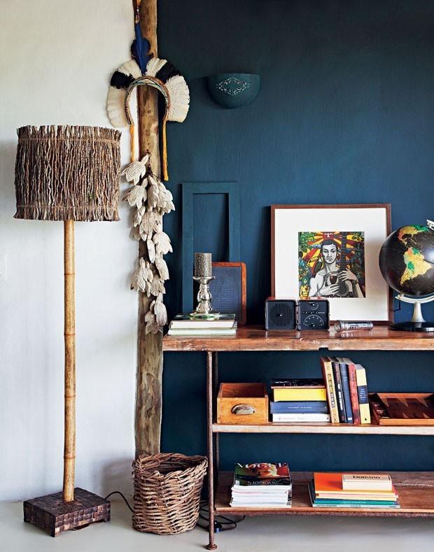 Móveis e objetos feitos de vime e fibras naturais estão com tudo! (Foto: reprodução)