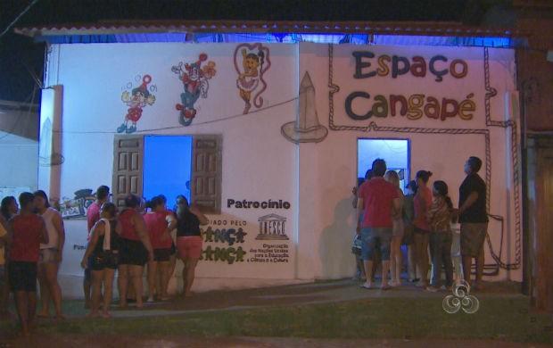 Sede do Espaço Cangapé (Foto: Reprodução/TV Amapá)