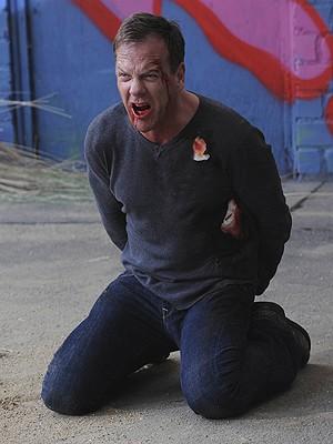 Jack Bauer (Sutherland), em cena do último episódio de '24 horas' (Foto: Divulgação/Fox)