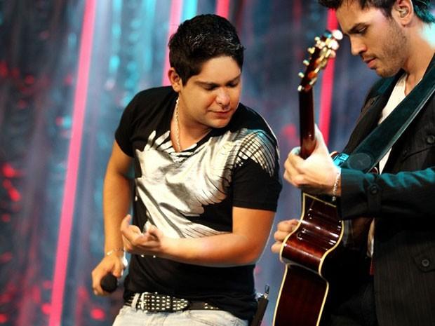 A dupla Jorge e Mateus faz show na Festa do Peão de Americana  (Foto: Leandro Maldonado/Divulgação)