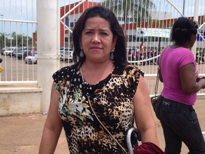 Suely Rodrigues, 45 anos, perdeu o Enem em Rio Branco (AC) (Foto: Yuri Marcel/G1)