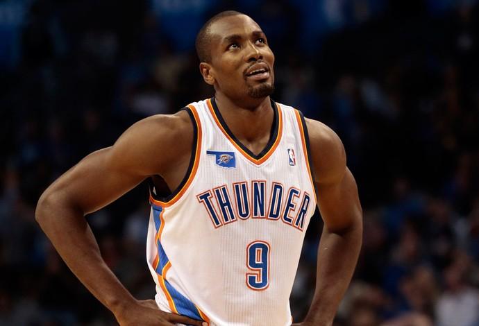 NBA serge Ibaka oklahoma citu thunder (Foto: Agência Getty Images)