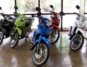 Motos Corrida de Reis (Foto: Reprodução/TVCA)
