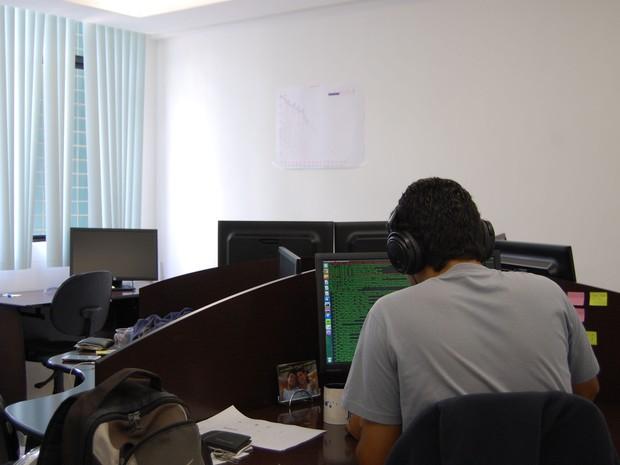 Campina Grande é celeiro de profissionais de tecnologia, muitos formados pela UFCG (Foto: Diogo Almeida / G1)