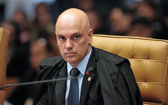 Alexandre de Moraes ministro do Supremo Tribunal Federal (Foto:  Agência STF)
