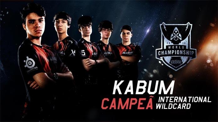 Kabum conquista vaga inédita para o Brasil no League of Legends (Foto: Divulgação)